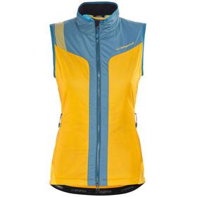 La Sportiva Estela 2.0 Primaloft Kamizelka   Kobiety żółty/niebieski